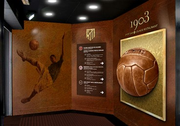 Atlético de Madrid – Lounge & sport restaurant